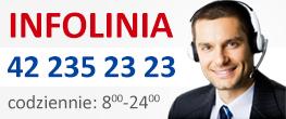 Infolinia: 42 235 23 23