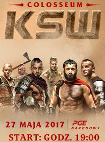 KSW 39: Colosseum 27.05.2017 w insPORT na kanale 505
